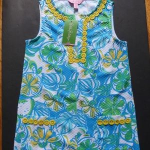 Lilly Pulitzer Girls Dress L Sweet Sour Floral